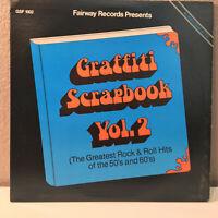 "K-TEL-Like Compilation - Graffitti Scrapbook (50's) - 12"" Vinyl Record LP - EX"