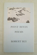 """""""Point Reyes Poems"""" by Robert Bly - SIGNED Ltd. Ed. - 1974"""