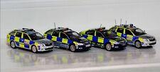 4 Code 3 Diecast Model Police Cars 1/43