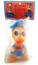 Vintage Walt Disney Donald Duck Danish D.V.P Squeaky Toy New 1970s