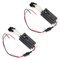 Inverter Ballast for CCFL Angel Eyes Halo Rings Kit 4-outputs 12V Male