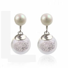 Silver Plated Clip - On Fashion Earrings