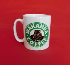 Captain america guerre civile black panther starbucks inspiré mug café 10oz