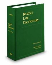 Black's Law Dictionary, Standard Ninth Edition (Black's Law Dictionary (Standard