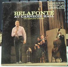 HARRY BELAFONTE: At Carnegie Hall LP (2 LPs, Mono, gatefold, VG++