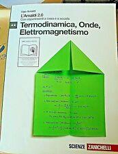 L' AMALDI 2.0 VOL.2 TERMODINAMICA, ONDE, ELETTROMAGNETISMO - AMALDI - ZANICHELLI