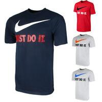 Nike Men's Active Sportswear Short Sleeve Just Do It Swoosh Gaphic T Shirt