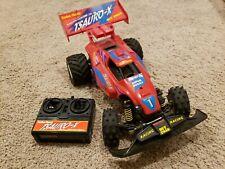 "Vtg Radio Shack ""Tsauro-X Off Road Super Rc Buggy"" Parts or repair. See desc."