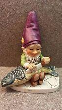 Mint 1970 Goebel Co-Boy Fips Figurine Well 508 Tmk6 Fisherman Gnome W. Germany