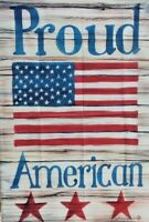 "75% off of 5 Proud American Standard House Flags by Toland 24"" x 36"", New in pkg"