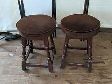Low pub stools