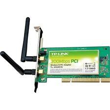 Wireless LAN PCI 300m TP-LINK Tl-wn851nd 2 antenas