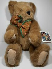 The Vermont Teddy Bear Company Fully Jointrd Highly Collectible Bear Brown Honey