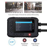 DV688 Motorrad Dash Cam DVR Video Dual Objektiv 1080P 2CH &GPS-Modul&64GB Karte