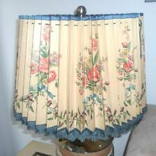 Rare Collectible Antique Vintage Victorian Lamp Shade Adjustable Cover Floral