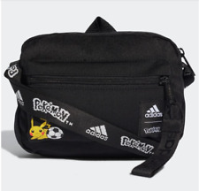 Pokemon x Adidas Pikachu Shoulder Bag Black Organizer new