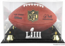 Super Bowl 53 LIII Football Display Case Free Name Plate