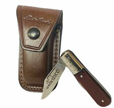 Barlow pocket knife two 2 blade Imperial USA Tesco advertising Eddie Bauer case