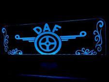 Custom made 12V DAF Truck Cabin Interior  Engraved Usb Led Light,RGB control