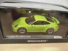 Porsche 911 GT3 (991) 2013 - lichtgrün - Minichamps CA 043 16 016 - 029/100 1:43