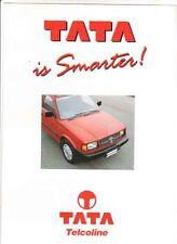 1996 TATA TELCOLINE PICKUP UTE Australian Brochure
