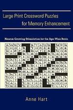 Large Print Crossword Puzzles for Memory Enhancement : Neuron-Growing...