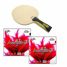 XVT HINOKI - ZLC + Air ASSASSINS TABLE TENNIS RACKET