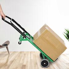 Aluminum Durable Luggage Cart Folding Dolly Trolley Push Hand Truck Shopping