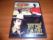 Dan Candy's Law/Any Gun Can Play (DVD 2007 Full Frame) Donald Sutherland Used