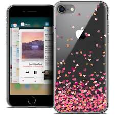 """Coque Crystal Gel Pour iPhone 8 (4.7"""") Extra Fine Souple Sweetie Heart Flakes"""