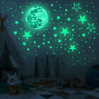 Wall Stickers Glow In The Dark Luminous Stars And Moon Planet Space Bedroom Deco