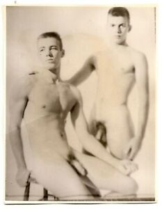 Vintage Male Nude - 1950's Figure Study of Duo