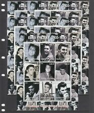 New Listing Elvis Presley Pop Rock Music Star 2000 Congo Mnh 9 v perf set X 5 Wholesale lot