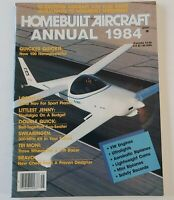 Homebuilt Aircraft Magazine Issue Annual 1984