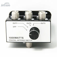 1000 watt 3 way Antenna Coax Switch for CB Ham radio