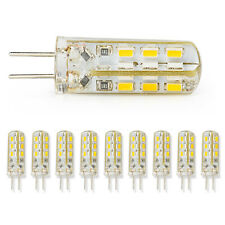 10x G4 Home 3014smd LED Light Lamp 12v 3w Warm White Silicone Crystal Slim Hot
