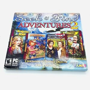 Legacy Seek & Find Adventures (PC GAMES) Seek & Find Adventures(4 in 1) Disc