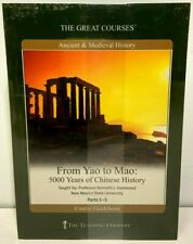 From Yao to Mao 5000 Years of Chinese History DVD Set w/ Guide Great Courses NEW