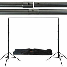 LS Photography Studio up to 12' Adjustable Width Backdrop Support System