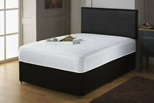 ORTHOPEDIC DIVAN BED SET WITH MATTRESS + HEADBOARD SIZE 3FT 4FT6 Double 5FT King