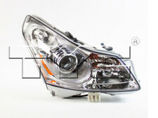 TYC NSF Certified Right Side Xenon HID Headlight Lamp for Infiniti G35 2007-2008