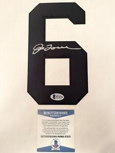 NEW YORK YANKEES JOE TORRE signed TACKLE TWILL JERSEY NUMBER 6 BECKETT AUTHENTIC