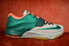 WORN ONCE NIKE MEN KD VII 7 EASY MONEY MYSTIC GREEN Size 13 653996-330