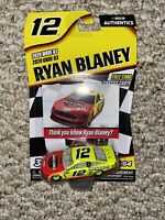 Nascar Authentics 2020 Wave 03 Ryan Blaney Jack Links Menards Chase Car