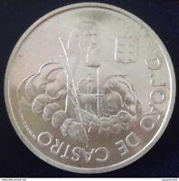 1000 ESCUDOS Silver Coin Portugal, O HOMEM E SEU CAVALO