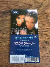"❤️SUPER RARE JAPANESE 3"" CD❤️All Right Now~Pepsi & Shirlie (Wham/George Michael)"