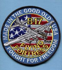 BOEING B-17 FLYING FORTRESS USAF ARMY AIR CORPS WW2 Bomber Squadron Jacket Patch