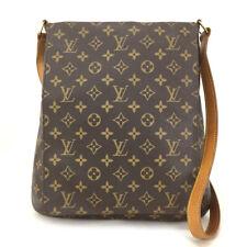 100% Authentic Louis Vuitton Monogram Musette Shoulder Bag Purse /30486