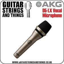 AKG D5-LX Professional Dynamic Lead & Backing Vocal Microphone UK SELLER