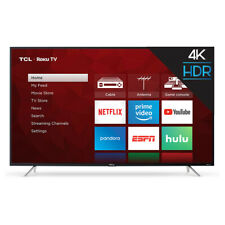 TCL 4 Series LED 4K Ultra Smart Tv with Roku, 55 Inches(Certified Refurbished)